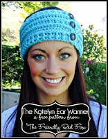 Quick and easy crochet ear warmer free pattern