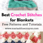 best crochet stitches for blankets