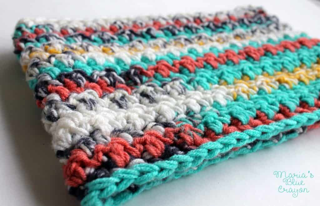 Painted Canyon Cowl Crochet Pattern - Maria's Blue Crayon