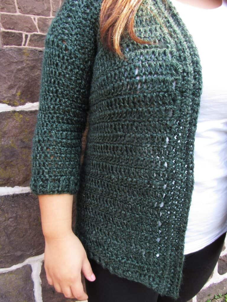 Heartland Cardy Cardigan Crochet Pattern (Small/Medium Sizes