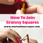 how to join crochet granny squares together