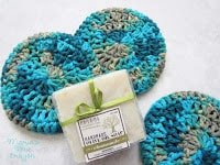 Quick and easy kitchen scrubbies free crochet pattern