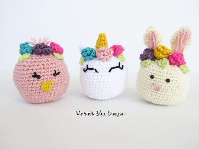 crochet easter basket stuffers