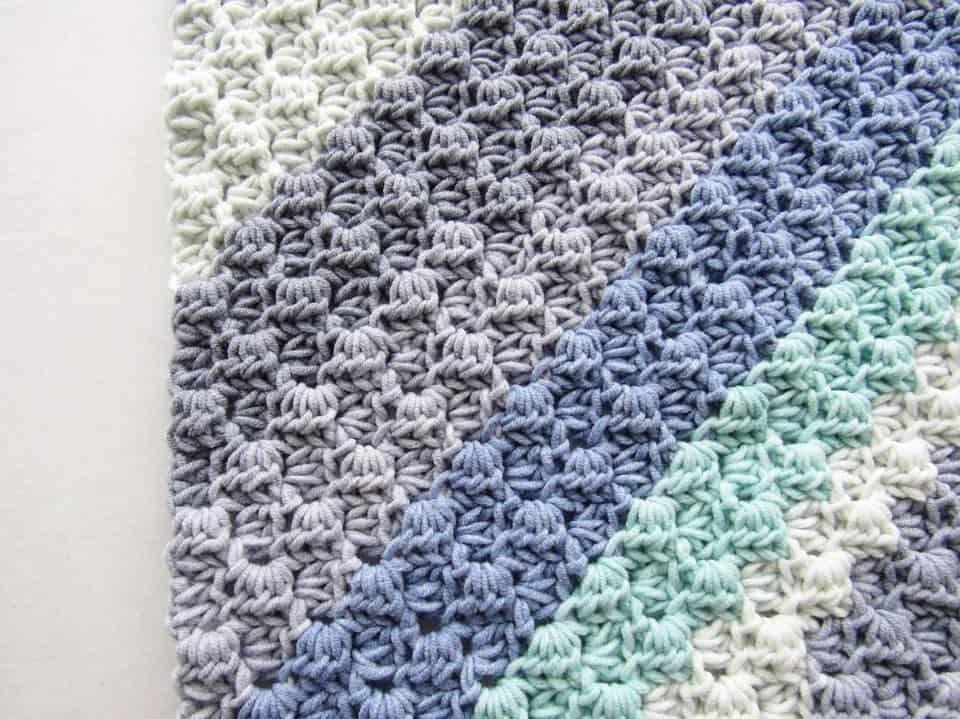 Crochet Stitch Tutorial: Corner to Corner (C2C) with Half