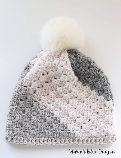 Crochet Beanie with Pom Pom