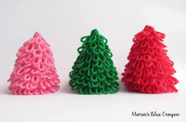 Free Christmas Tree Crochet Pattern for Decoration