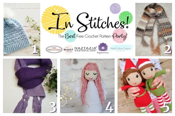 c0f3e0fb573 In Stitches – Best Free Crochet Patterns Link Up Party Week  26