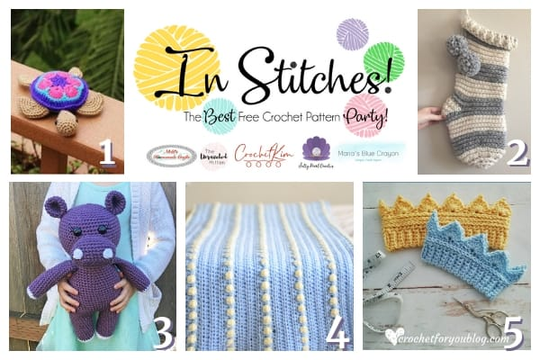 ec1404d5639 Best Free Crochet Patterns – In Stitches Link Up Party Week  27