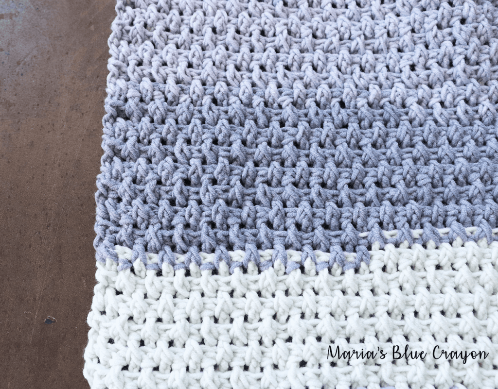 textured crochet washcloth