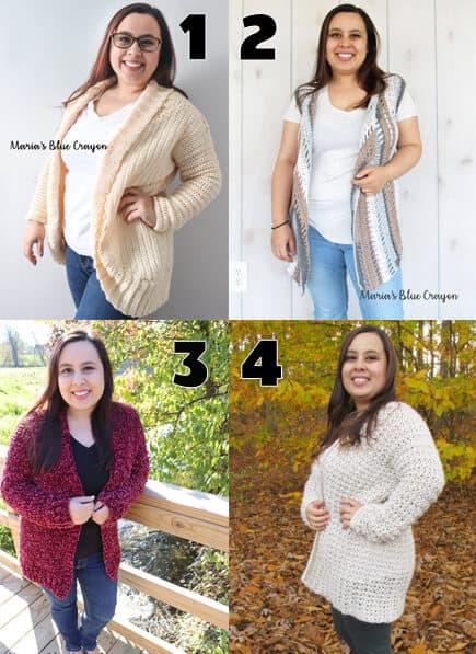 crochet garment patterns