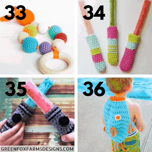 30 Free Crochet Patterns Using Cotton Yarn Marias Blue Crayon