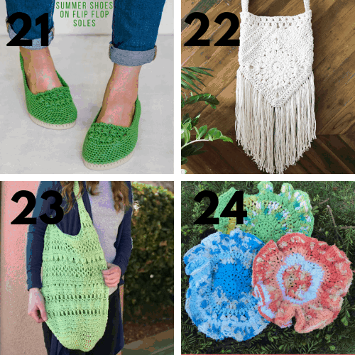 45 Crochet Projects With Free Patterns | 500x500