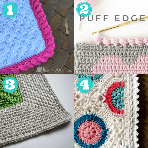 crochet blanket border patterns