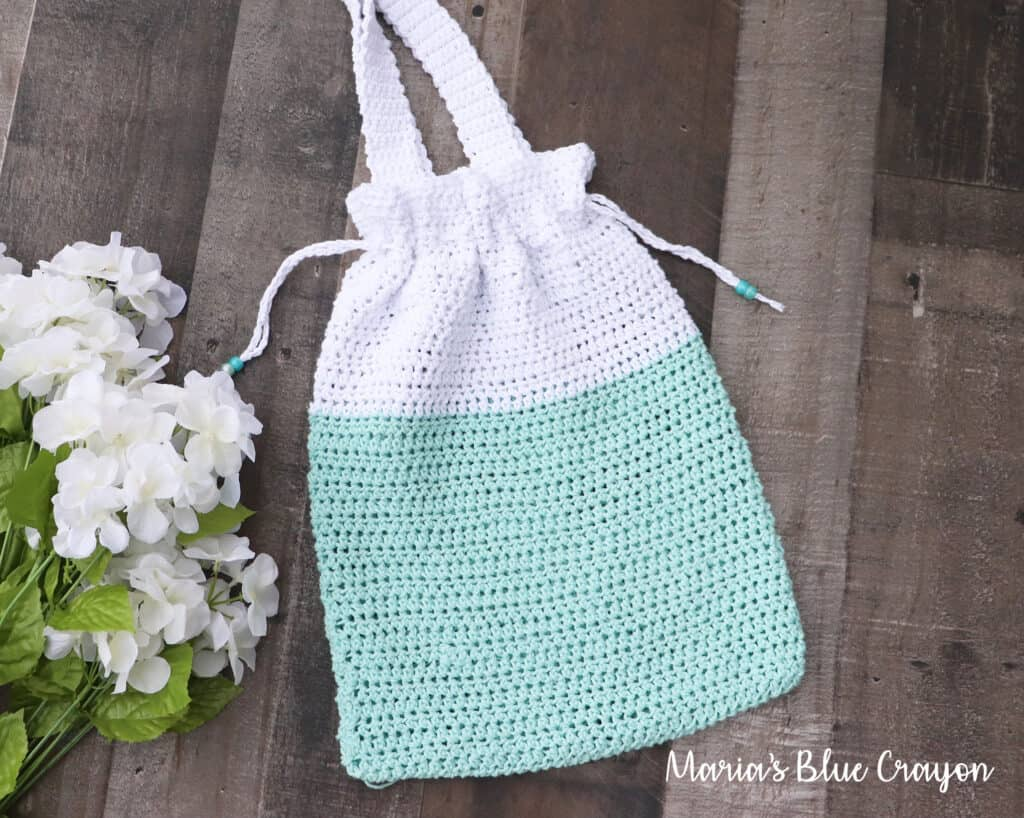 easy crochet tote bag