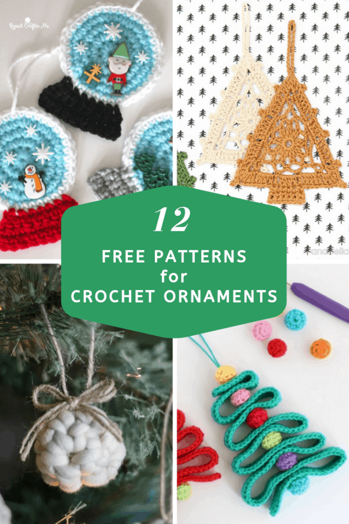 12 Best Free Crochet Ornament Patterns Maria S Blue Crayon