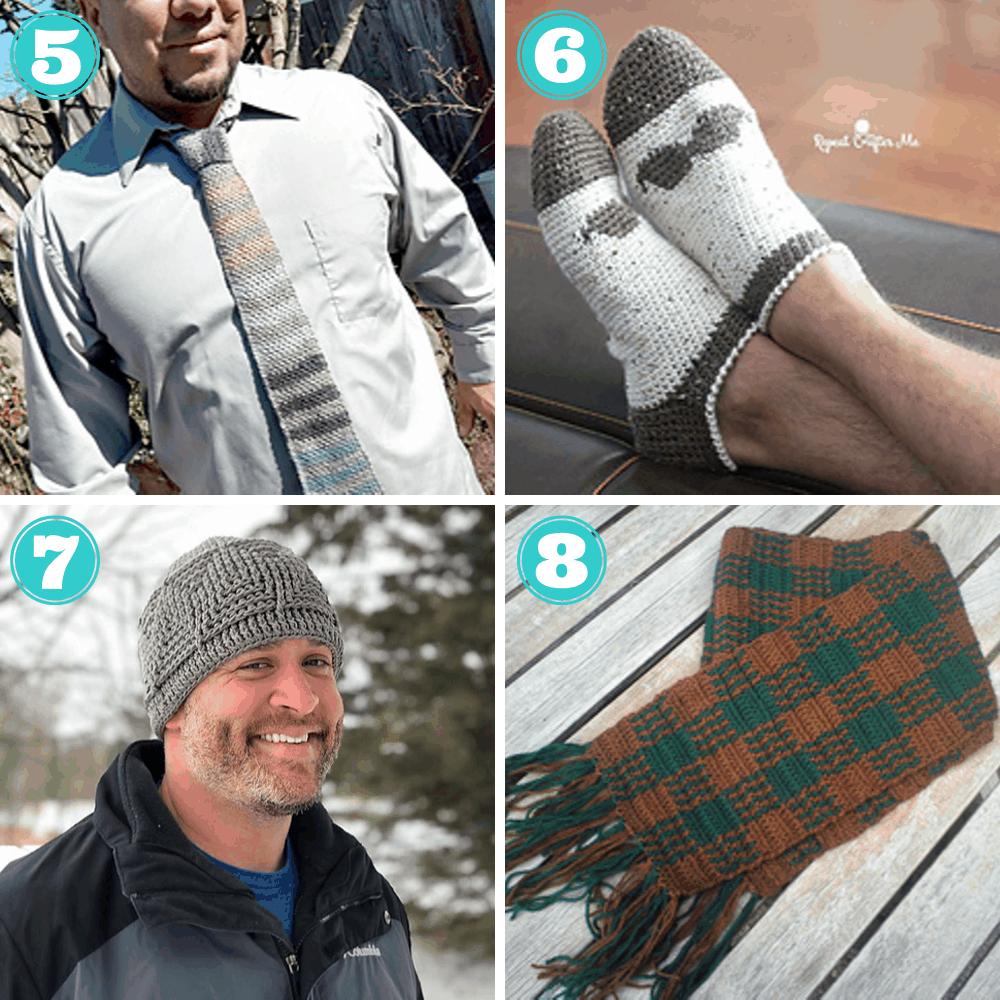 crochet pattern for men