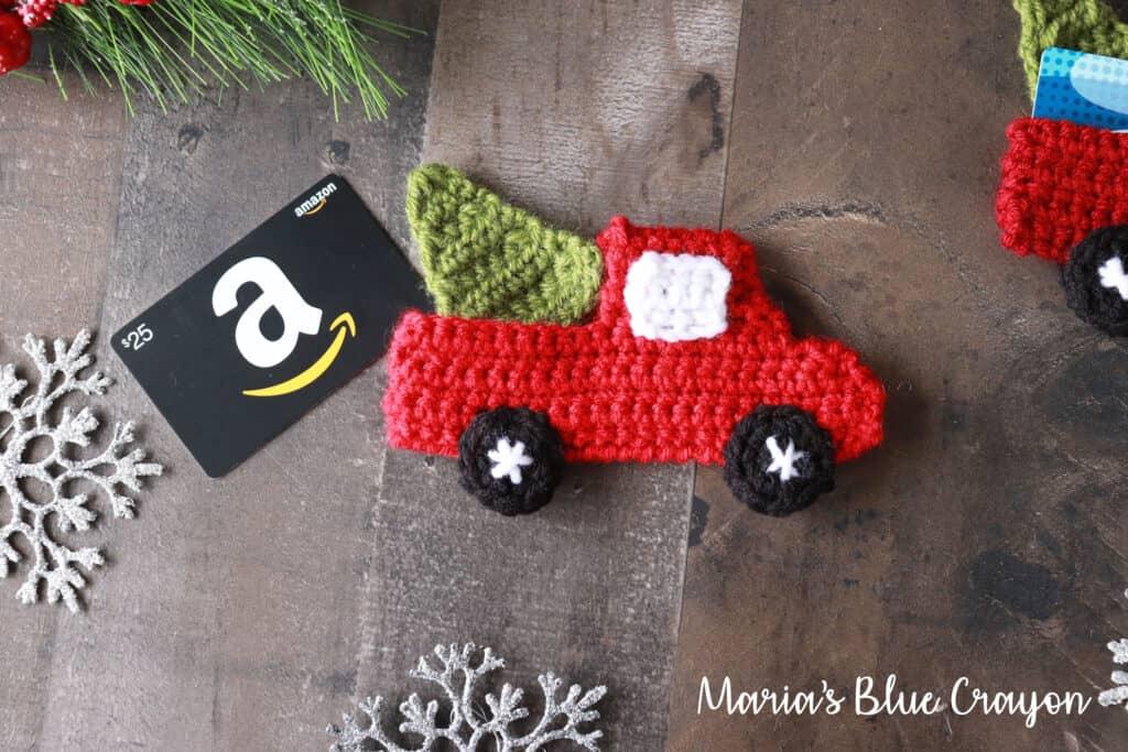 Crochet Red Truck Pattern