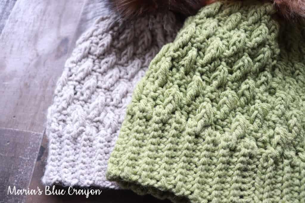crochet hat pattern with brim