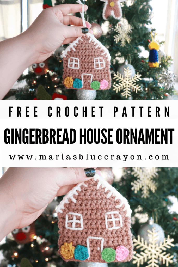 crochet gingerbread house pattern