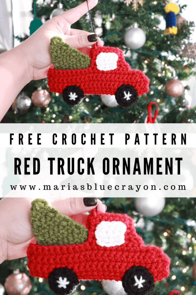 crochet red truck pattern