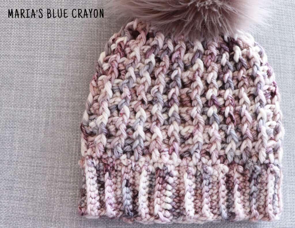 crochet bulky hat pattern