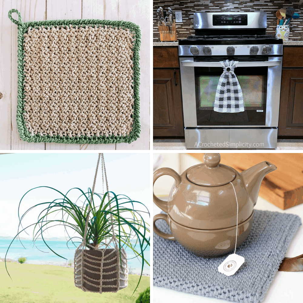 crochet patterns for the kitchen