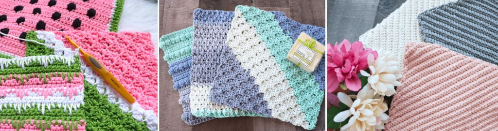 crochet dishcloth patterns