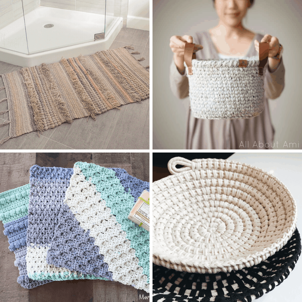 crochet patterns for the bathroom