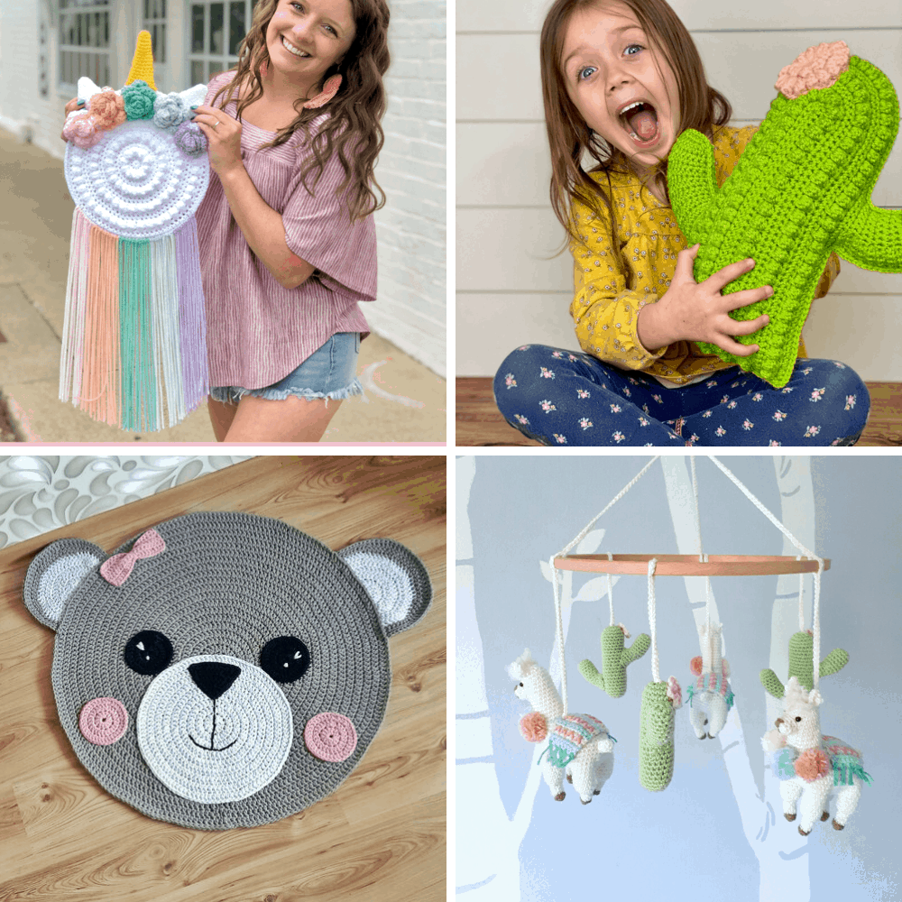 crochet patterns for nursery and kids