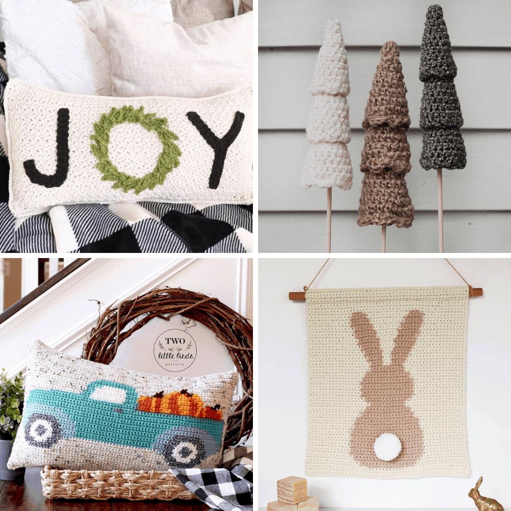 seasonal crochet home decor patterns
