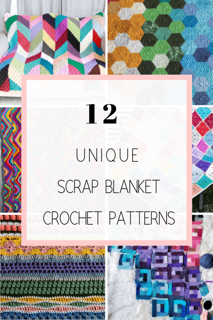 crochet scrap blanket patterns and ideas