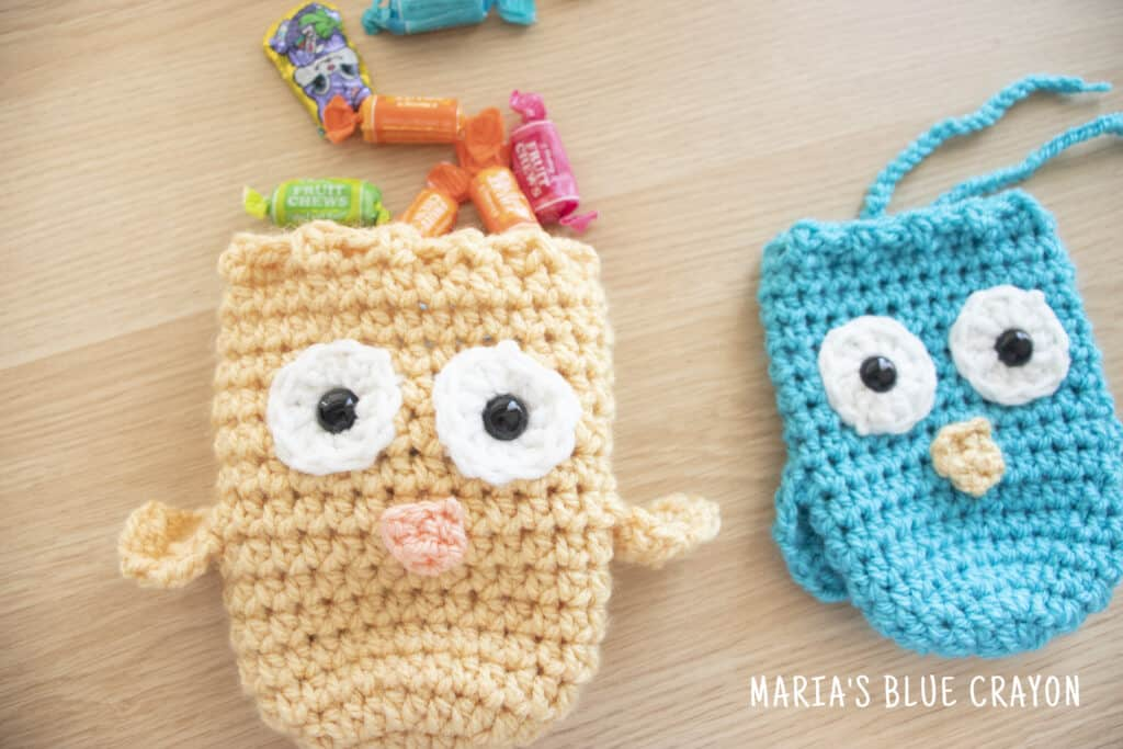 crochet easter treat bag free pattern