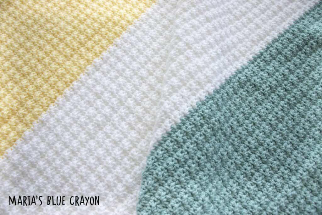 crochet silt stitch corner to corner