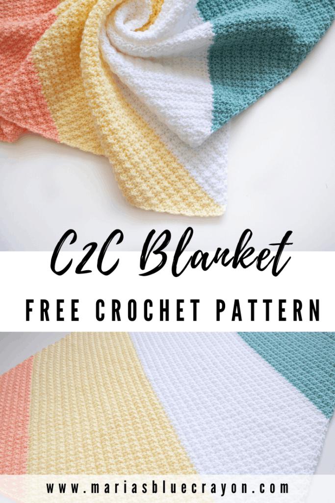 C2C Crochet Blanket Pattern