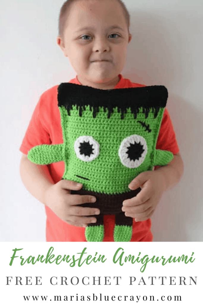 crochet frankenstein pattern