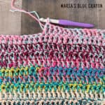 crochet scrap blanket pattern