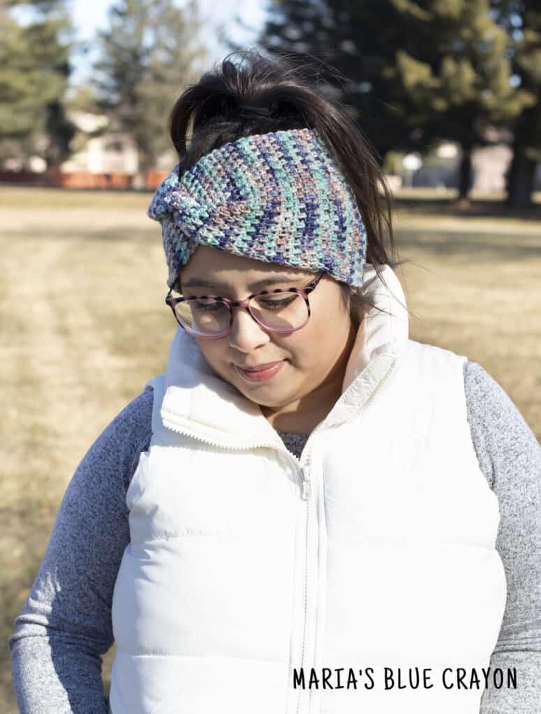 crochet twist ear warmer pattern