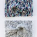 crochet twisted headband pattern