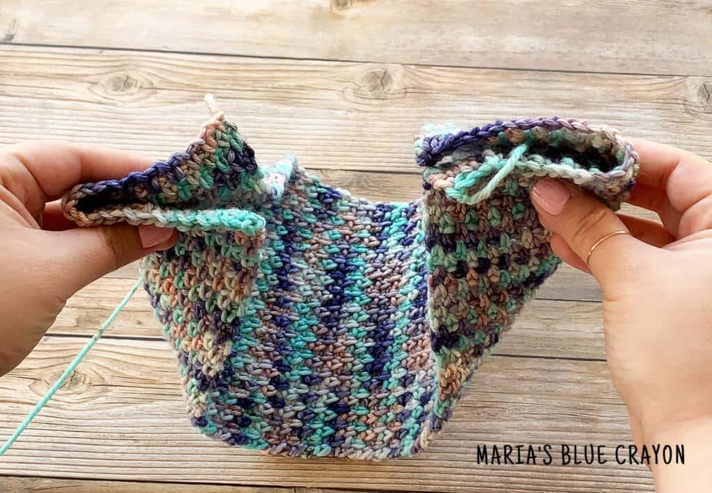 How to Sew Crochet Twisted Headband