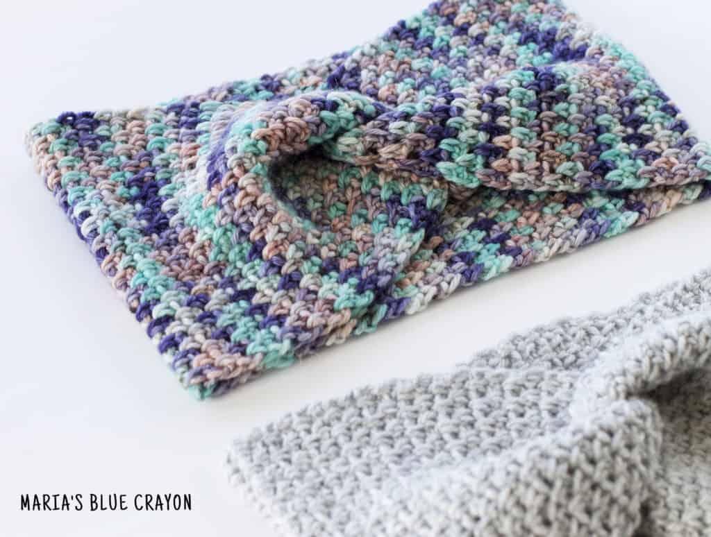 crochet criss cross headband pattern