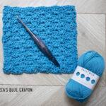 crochet closed scallop stitch tutorial