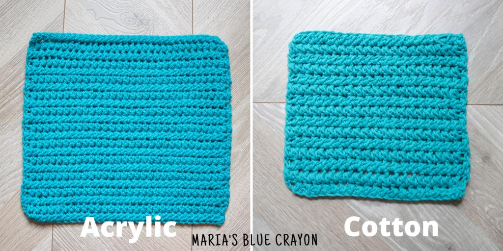 crochet paired half double crochet stitch