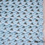 lattice crochet stitch