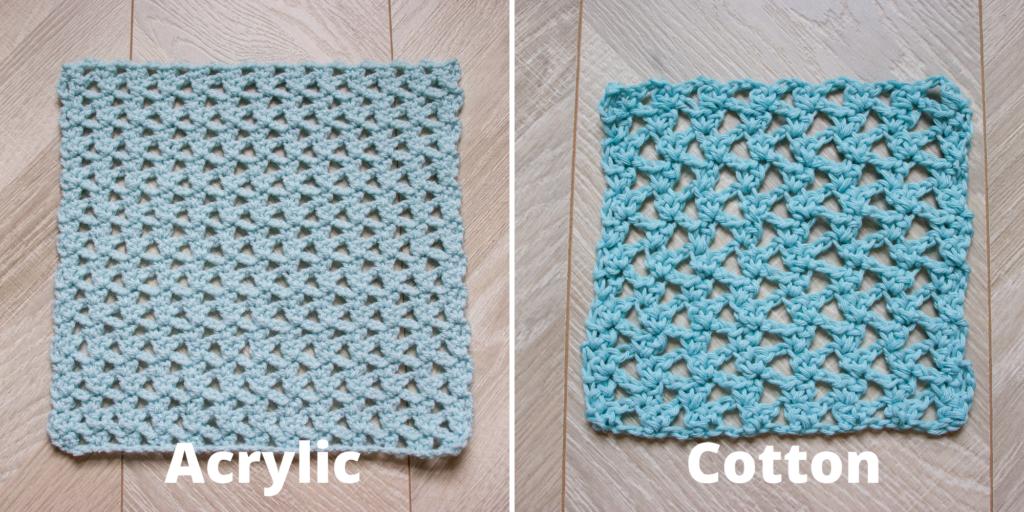 crochet lattice stitch
