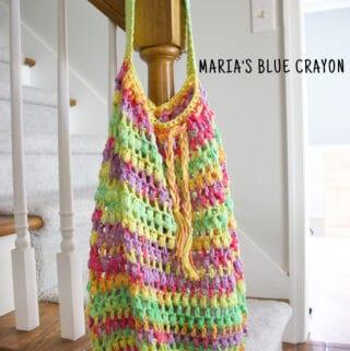 crochet summer market bag pattern