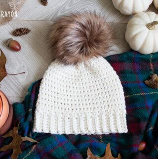 crochet bottom up beanie pattern
