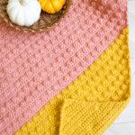 crochet corner to corner bobble blanket